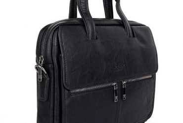 Jeep Buluo Two Front Pocket Bag | Black
