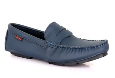 Clarks Simple Drivers | Navy Blue