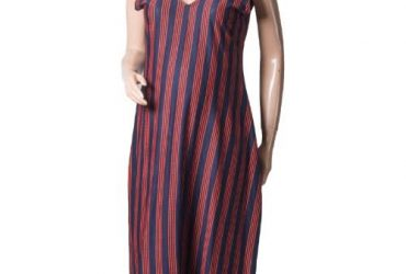 Jmm Multi-Striped Maternity Pinafore …