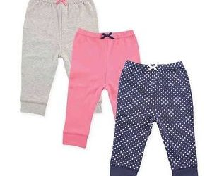 luvable friends-girls-gold-dotted-and-plain-pants