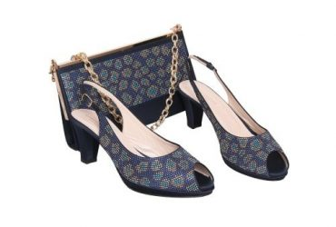 Buccelli Shoe And Bag – Blue