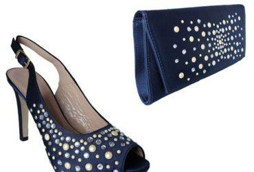 Shoe & Bag – Navy Blue