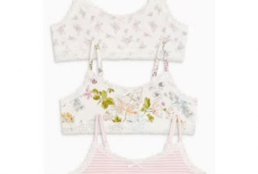 Ditsy Crop Tops – Three Piece Pack