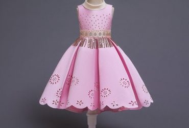 Laser Cut Princess Dress