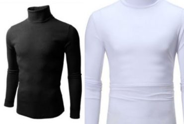 2 In 1 Quality Turtle Neck Polo.