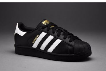 Adidas Superstar Sneakers In Black An…