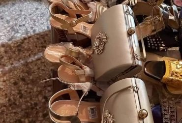 Set of Shoes and purse