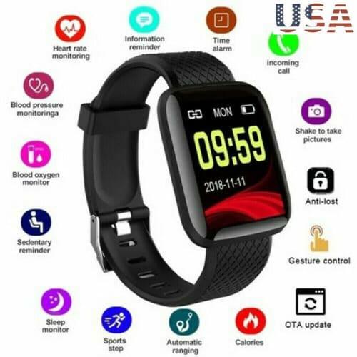 Unsiex Smart Watch Fitness Tracker