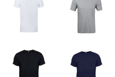 4 In 1 Round Neck Men's Plain Polo
