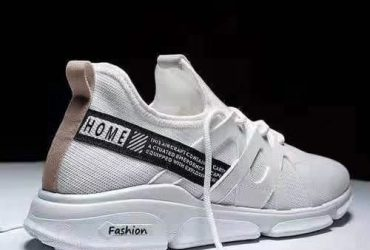 Breathable Sneakers – White