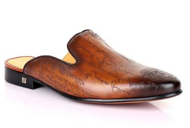 John Foster Signature Design Mule | Coffee Brown