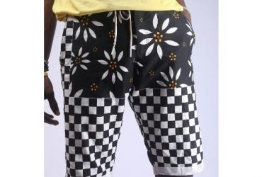 Crux Aztec Men's Monochrome Shorts