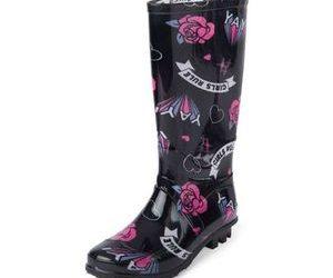 girls-rule-rain-boots