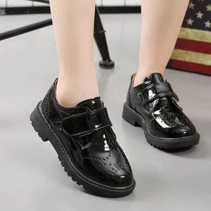 Kids-flat-leather-shoe