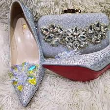 Classy Wedding Shoe and Purse