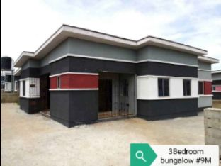 3Bedroom Bungalows in TREASURE ISLAND ESTATE