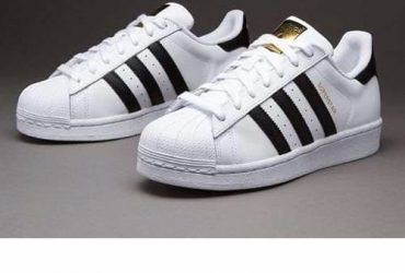 Adidas Superstar Sneakers With Gold
