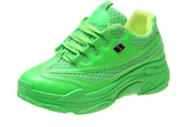 Ladies Sport Sneakers – Green