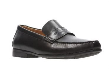 Clarks Claude Lane Men's Black Shoes