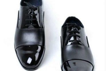Mr Zenith Wetlips And Leather Shoe
