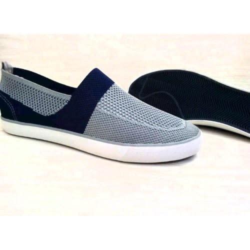 Net Sneaker – Grey/Navy Blue