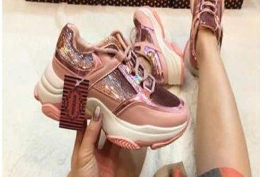 Ladies Noorhan Sneakers – Pink