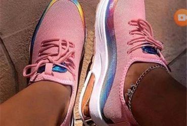 Claraz Ladies Sneaker – Pink