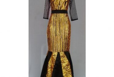 Metallic Gold Women's Dinner /Evening