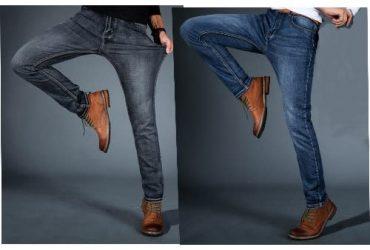 Men's Jeans Bundle – Black & Blue – 2