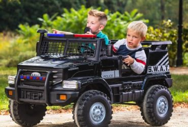 Huffy 12v Battery-Powered Swat Truck