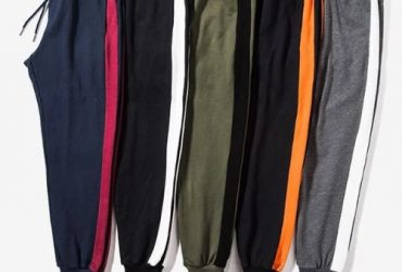 5pcs Men's Joggers – Multicolour