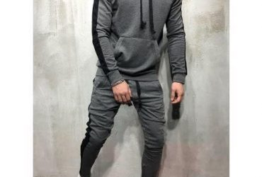 Men's Sweat Shirt & Joggers – Black
