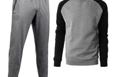Men's Joggers & Sewatshirt – Grey