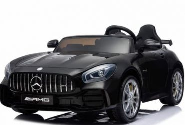 RiMercedes GTR Ride On Car-Blackde