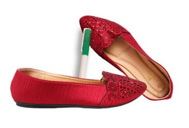 Ladies' Flat Shoes + Free Gift- Red